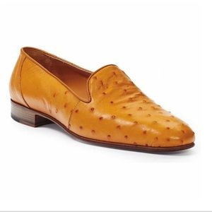 Ostrich by Antonio Da Firenze men's Oxford size 14